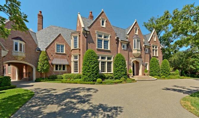Million English Tudor Mansion Dallas Homes