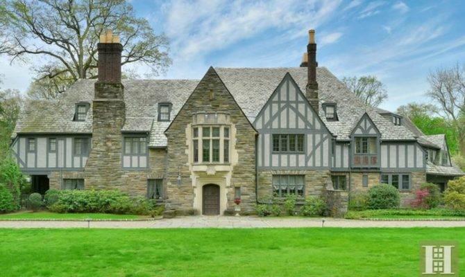 Million Historic Tudor Mansion Montclair
