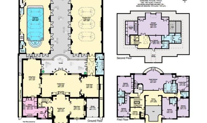 Million Palladian Style Brick Mansion London