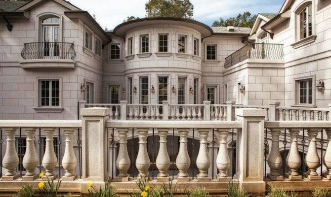 Million Palladian Style Mansion Atherton