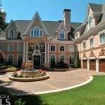 Million Stately Story Lakefront Mansion Sandy Springs
