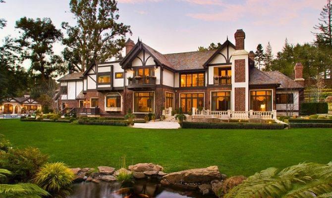 Million Tudor Mansion Atherton Homes