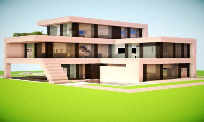 Minecraft Build Modern House Best