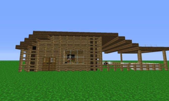 Minecraft Build Small Wooden House Youtube