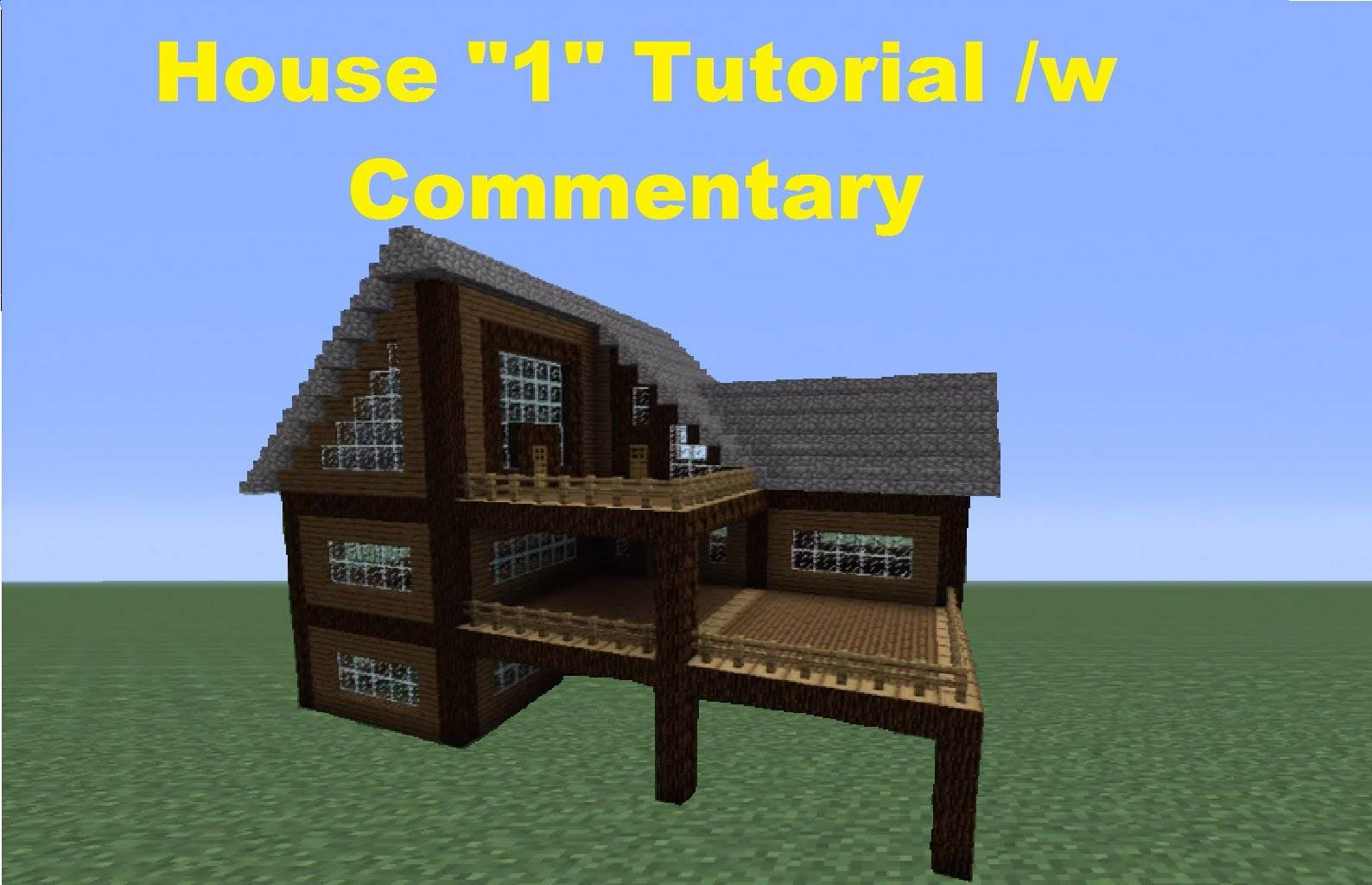 Minecraft Build Spruce Wood House Youtube Home Plans Blueprints 87001