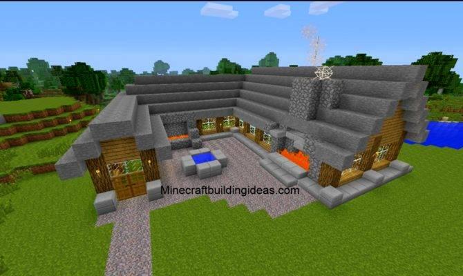 simple minecraft house ideas blueprints
