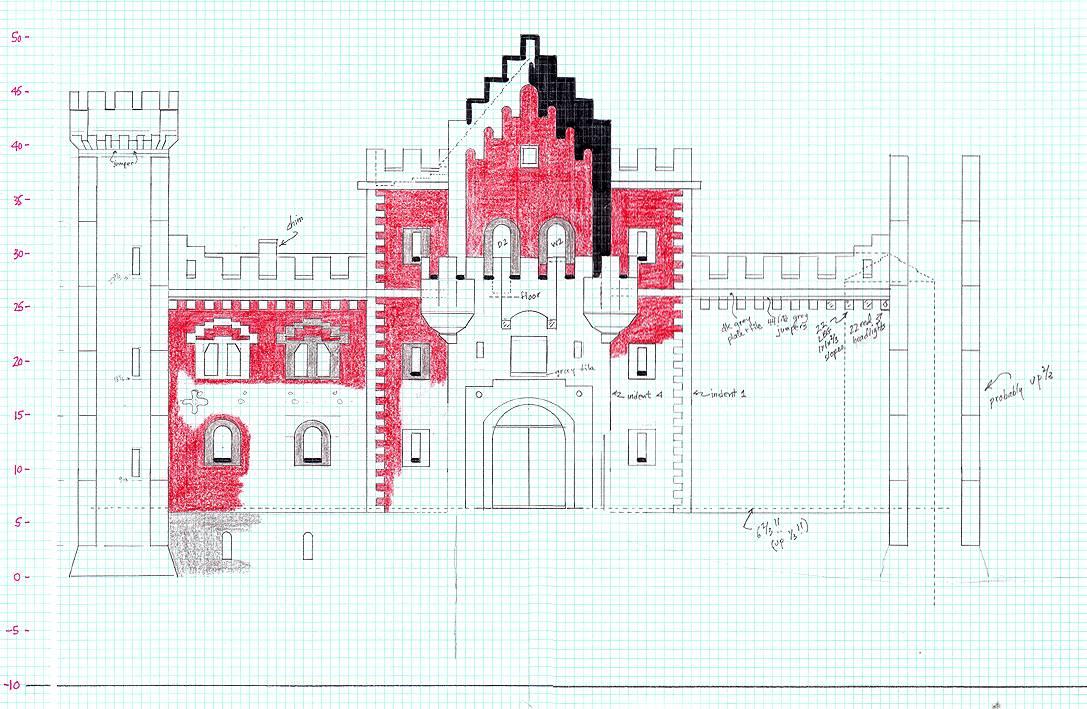 medieval minecraft castle blueprints