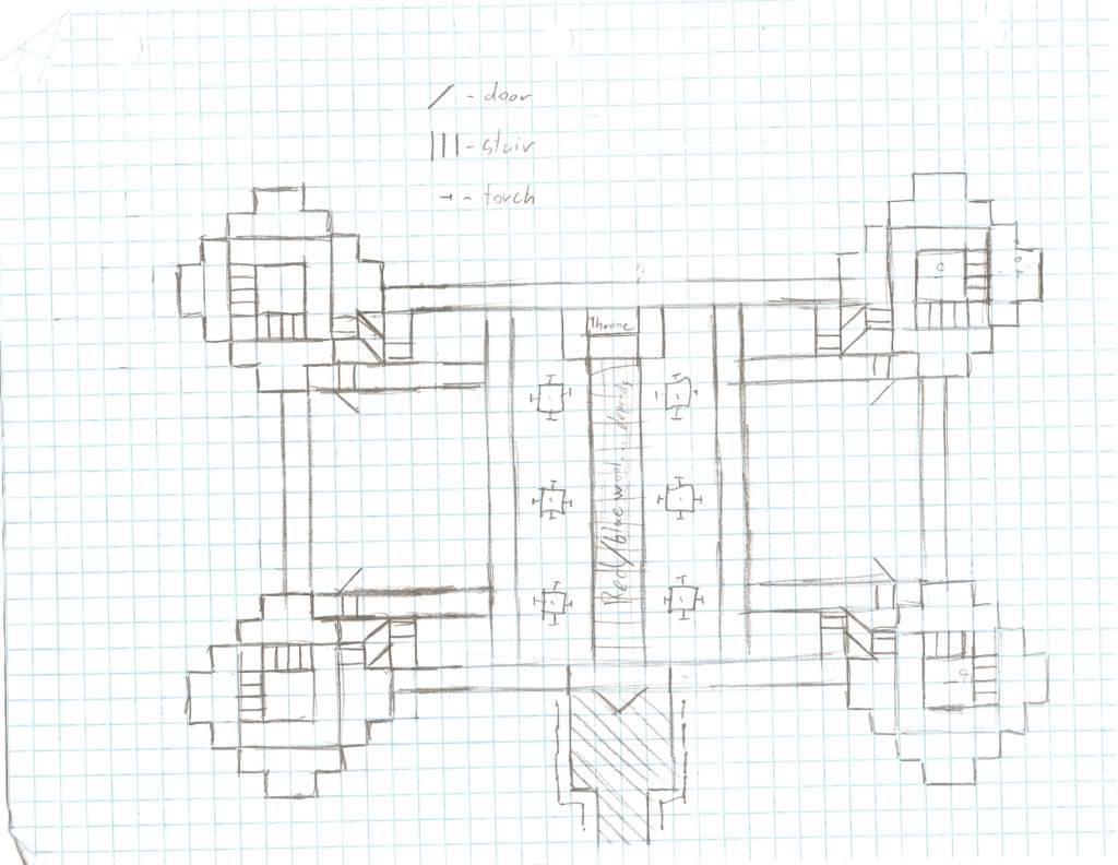 Minecraft Castle Schematics Nice Castles Home Plans Blueprints