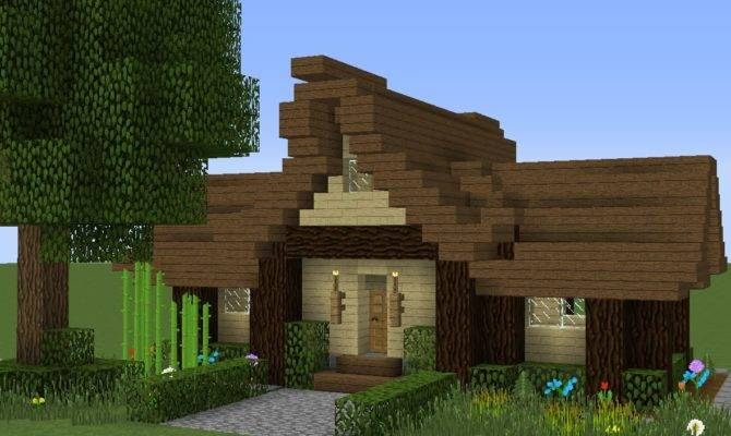 Minecraft Simple Medieval House Tutorial Easy