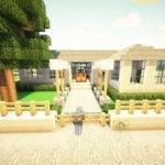 Minecraft Simple Sandstone Starter House Youtube