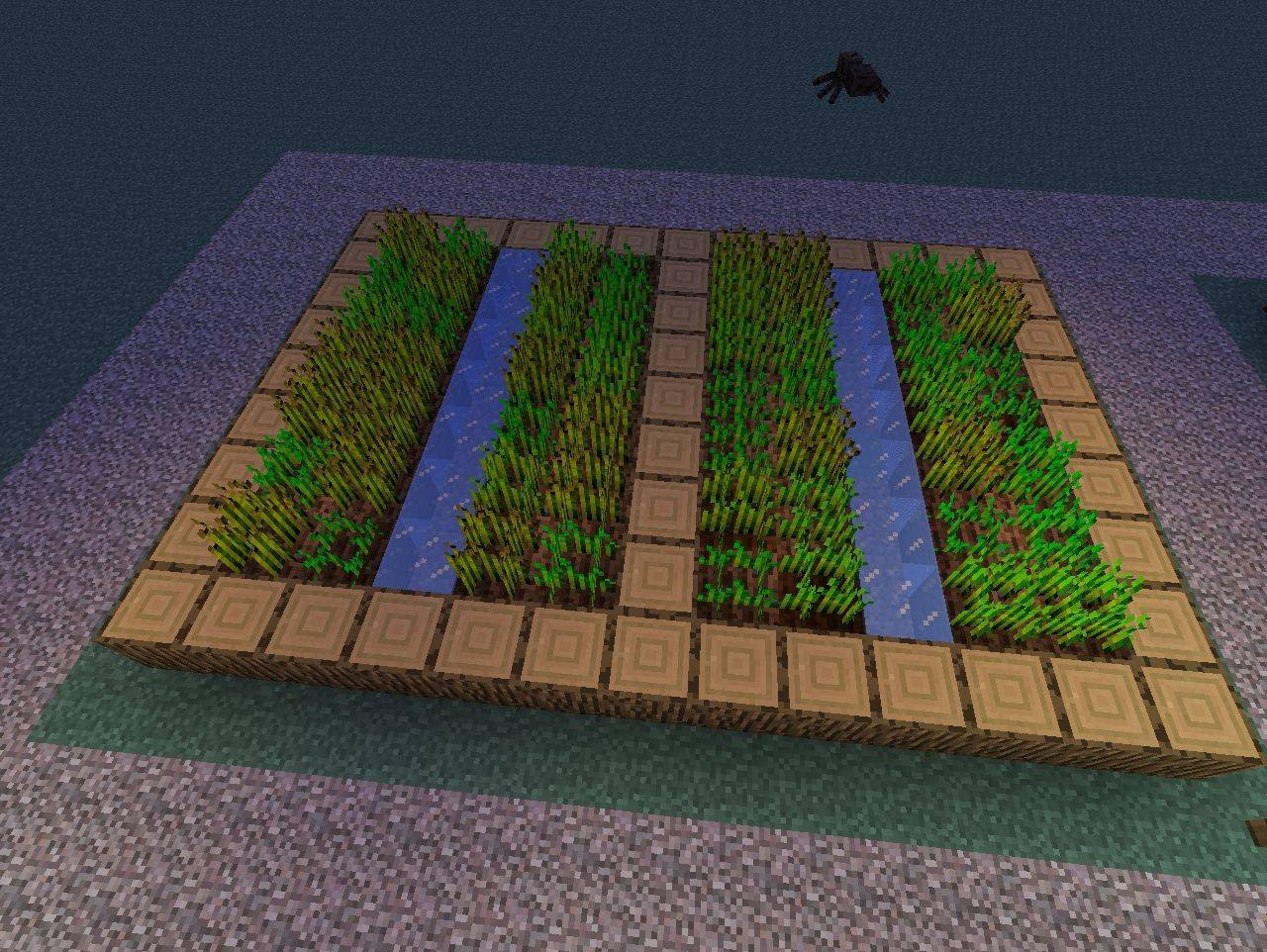 Minecraft Village Farm Blueprints Home Plans Blueprints 50918