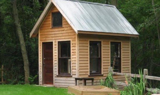Mini Cabin Plans Pdf Pole Barn Designs Loft