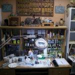 Miniatures Hobby Room