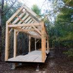 Minimal Mansion Timber Frame Tiny House Design