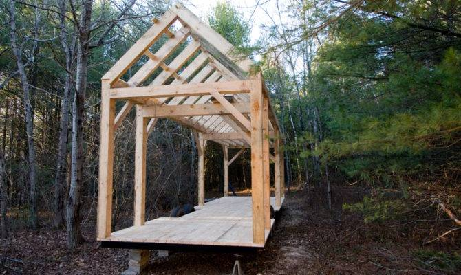 Minimal Mansion Timber Frame Tiny House Design