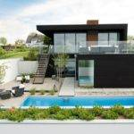 Minimalism Were Main Factors Designing Modern Beach House
