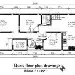 Minimalist House Design Drawing Plans