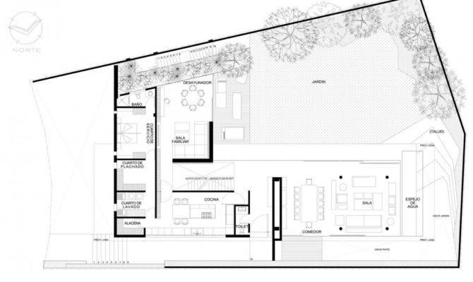 Minimalist House Plans Floor Bee Home Plan Decoration
