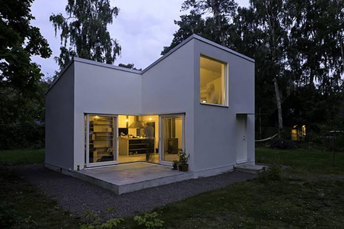 Minimalist Modern Concrete Small House