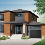 Minimalist Nice Design Modern Storey House Designs White
