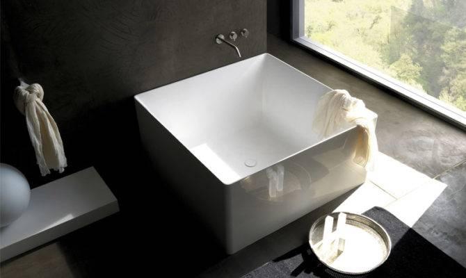 Minimalist Square Bathtub Modern Bathroom Colacril Digsdigs
