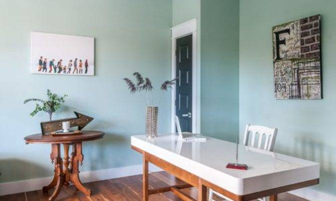 Mint Green Home Office Design Ideas Remodel