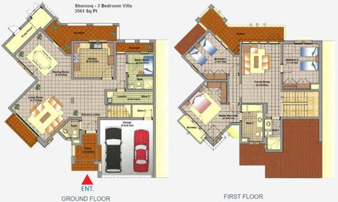 Mirdif Dubai Floor Plans
