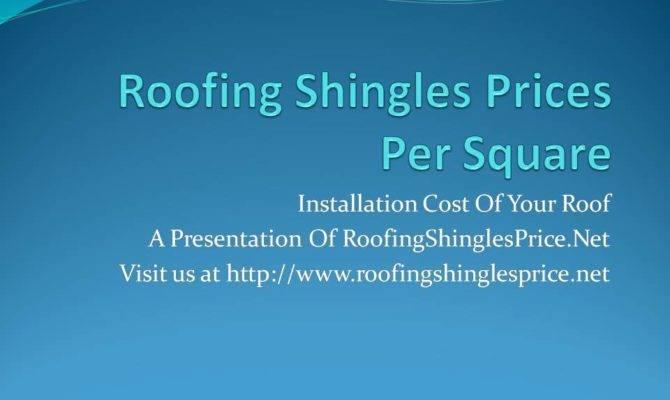 Misha Roofing Blog Shingles Price Per Square