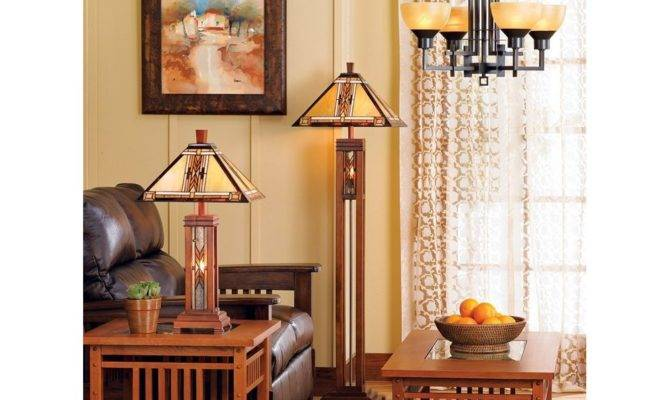 Mission Style Floor Lamps Traditional Meets