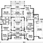 Mission Style House Plans Courtyard Pricing