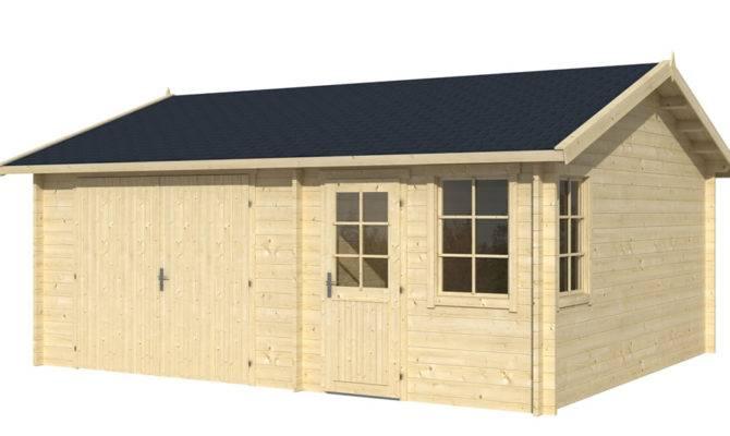 Moa Log Cabin Garage