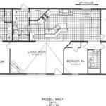 Mobile Home Floor Plans Bedroom Bathroom Plan