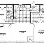 Mobile Home Floor Plans Bedrooms