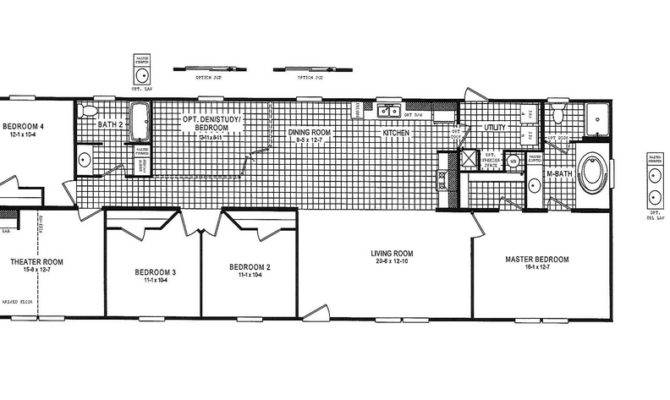 Mobile Home Floor Plans Myideasbedroom Home Plans Blueprints 94846