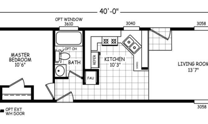 Mobile Home Floor Plans Single Wide Double