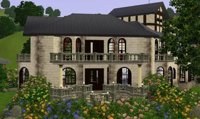 Mod Sims Archbold Manor Custom Content