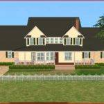 Mod Sims Big Luxury Farm House