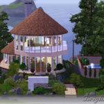 Mod Sims Boho Eco Friendly House