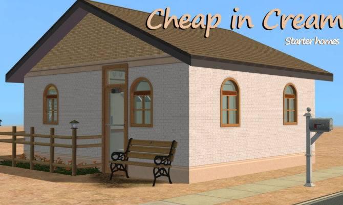 Mod Sims Cheap Cream Starter Home