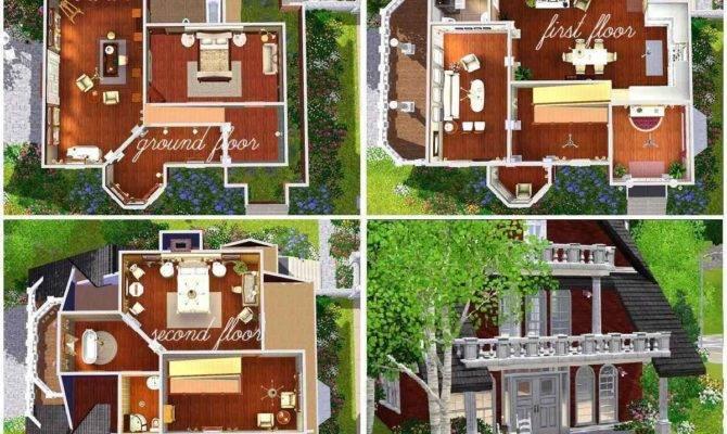 Mod Sims Classic Design Flowery Garden