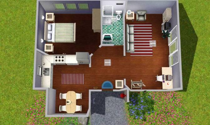 Mod Sims Contemporarian Starter Home