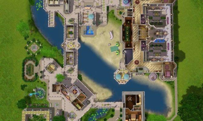 Mod Sims Fantasy Mansion