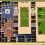 Mod Sims House Faun Pompeii Italy