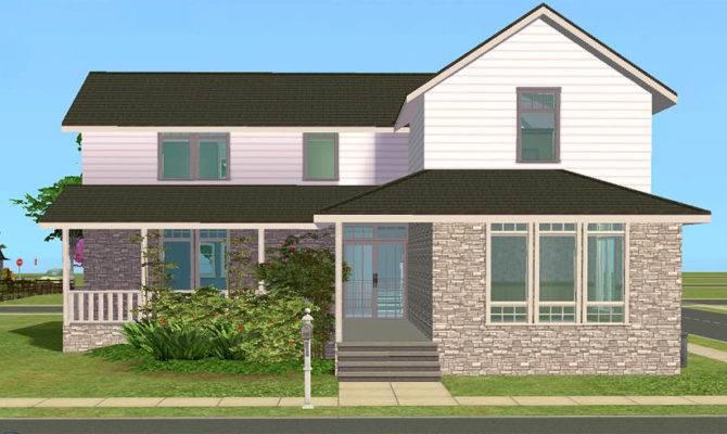Mod Sims Lark House Spacious Bedroom Starter