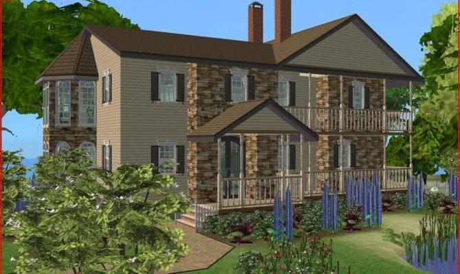 Mod Sims Luxurious Beach House