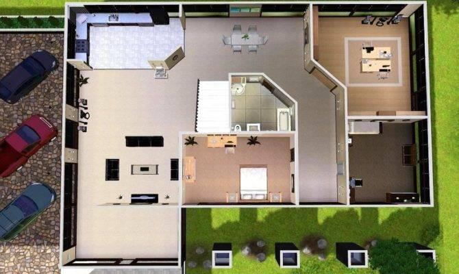 Mod Sims Modern Estate
