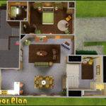 Mod Sims Retro Realty Modern Home
