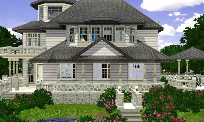 Mod Sims Silent Lake Manor Small Victorian