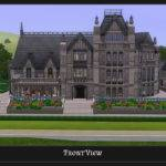 Mod Sims Stately Goth Manor Residential