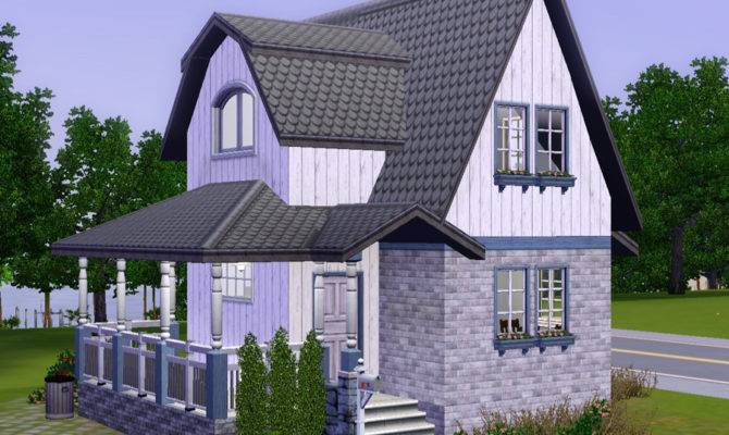 Mod Sims Wee Barnoid Small Country House